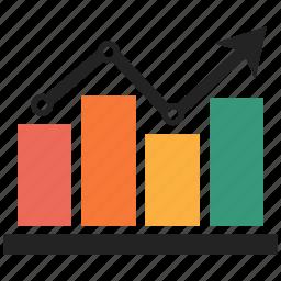 analysis, finance, graph, statics icon