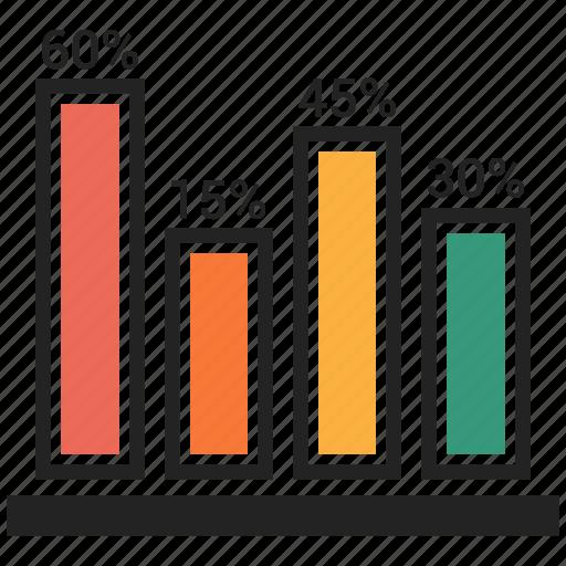 bar, chart, data, finance, graph, info, progress icon
