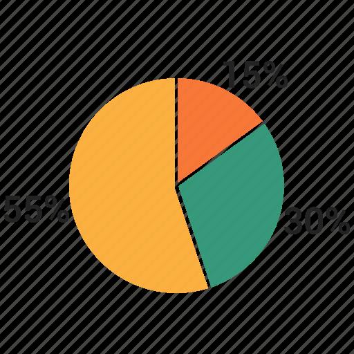 analystic, chart, pie, report icon