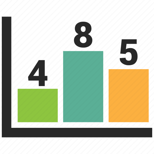 business growth, chart, finance, growth bar icon