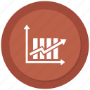 analytics, bar, chart, growth bar, increase icon