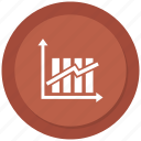 analytics, bar, chart, increase icon