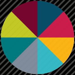 chart pie, graph, pie, statistics icon