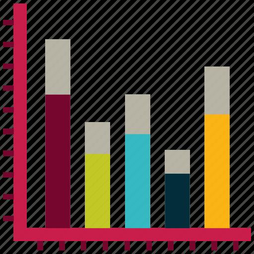 analytics, bar graph, bars chart, infographic, statistics icon