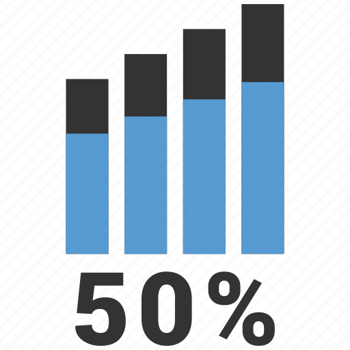 chart, graph, growth, stock icon
