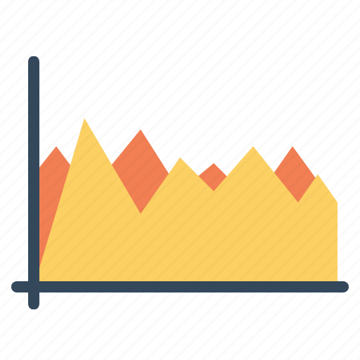 analysis, chart, compare, graph, infographic, statistic, year icon