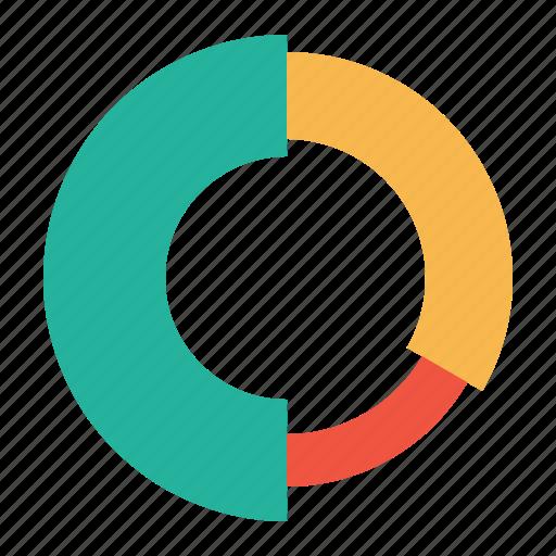 analysis, element, graph, infographic, performance, piechart, report icon