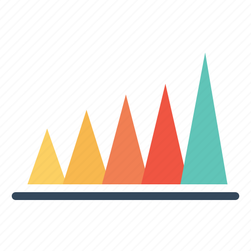 business, chart, graph, infographic, peak value, report, statistic icon