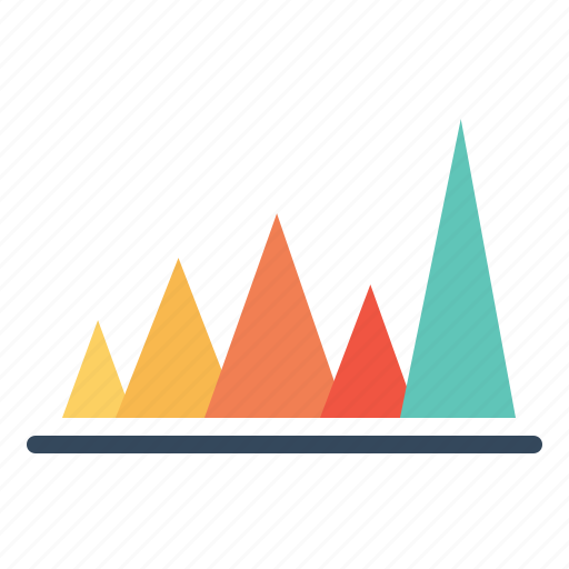 analysis, business, chart, graph, infographic, peak value, statistic icon