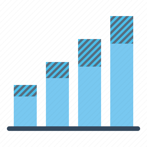 analysis, bar, business, chart, graph, infographic, report icon
