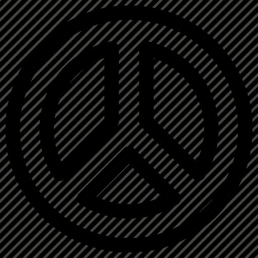 graphic, infographic, pie graph icon
