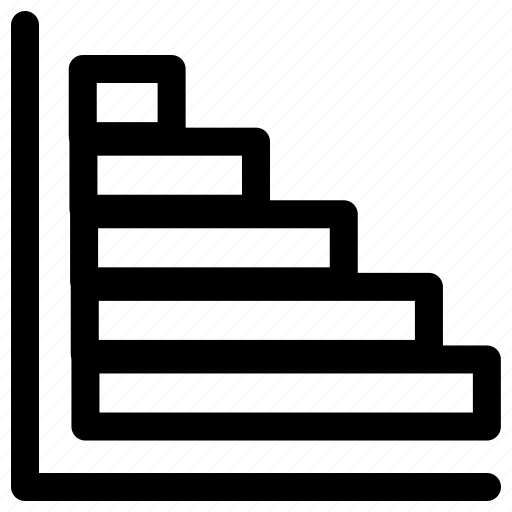 block graph, infographic, line graph, stats icon