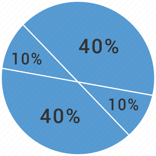 chart, graph, pie chart icon