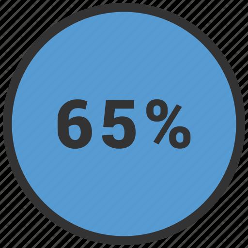 data, graphics, indicator, loading, percent icon