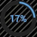 business, chart, pie, ratio icon