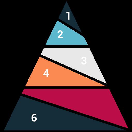 draw, piramid, pyramid, stock icon