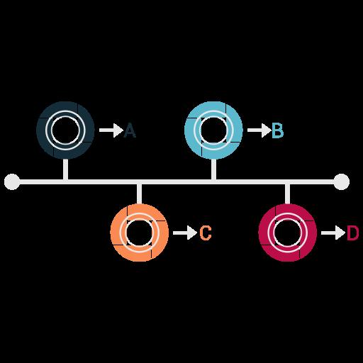 chart, diagram, economic, pie, schedule icon