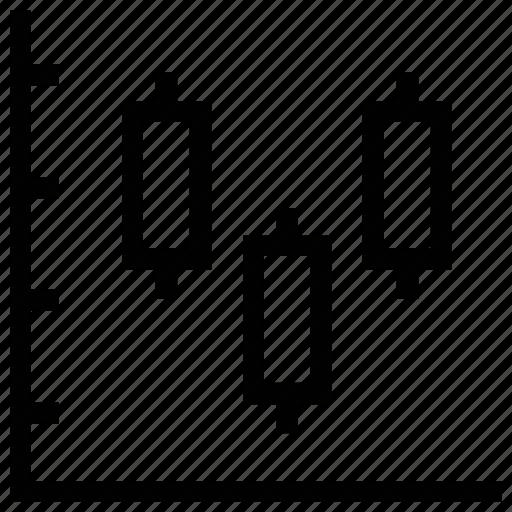 bar chart, bar graph, data analysis, financial chart, fluctuating graph icon