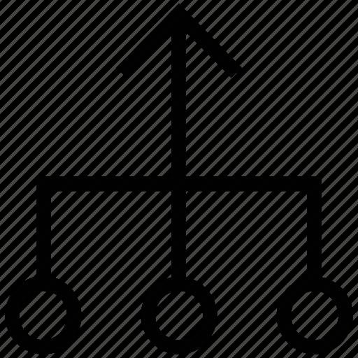 bar chart, bullet chart, business chart, chart, diagram, graph icon