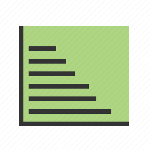 bar, chart, graph, graphs, report, stats icon