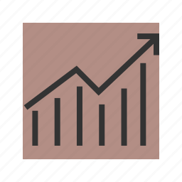 chart, economy, equity, graph, inflation, price icon