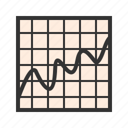 bell, curve, deviation, distribution, standard, statistics icon