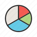 business, chart, charts, financial, graph, graphic, pie icon