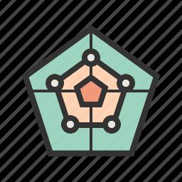 chart, graph, map, presentation, radar, screen, system icon