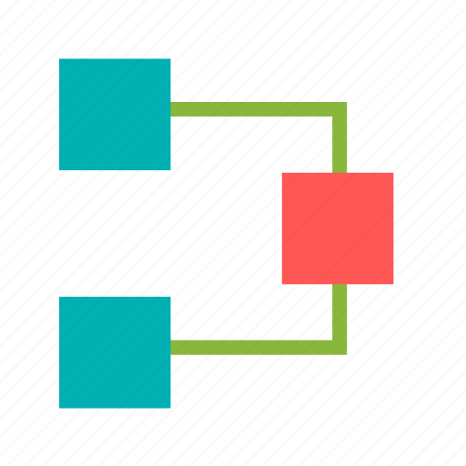 chart, circle, diagram, flow, infographics, organization icon