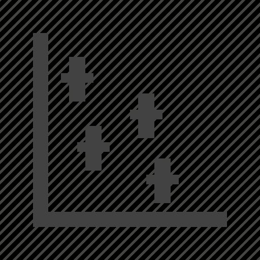 data, dotted, function, grid, presentation, set, statistics icon