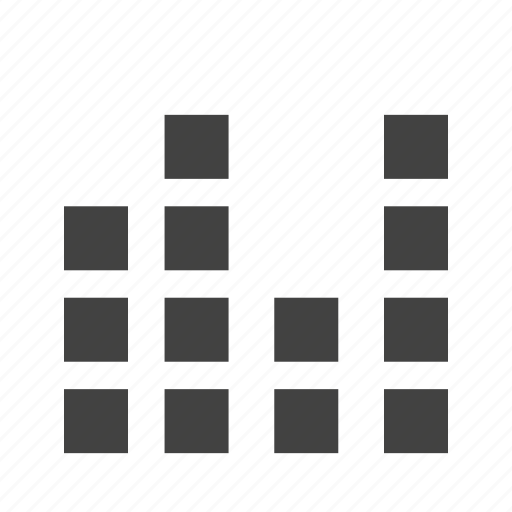 bar, business, chart, diagram, finance, graph, stacked icon