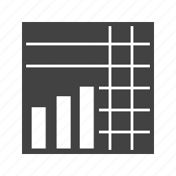 blocks, chart, graph, graphs, stack, stacked icon