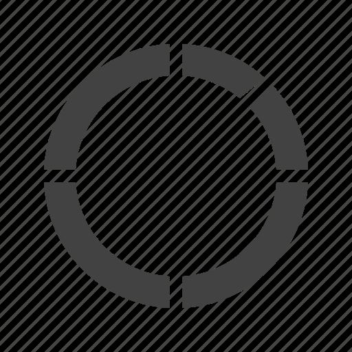 analysis, business, chart, donut, market, statistics icon