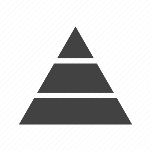 Business, chart, diagram, graphic, growth, pyramid, triangle icon - Download on Iconfinder