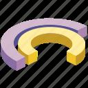 analysis, bar, chart, circle, data, diagram, pie icon