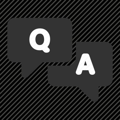 answer, faq, question icon