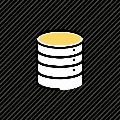 computer, database, information, network, server, storage, technology icon