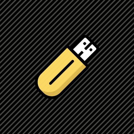 disk, flash drive, memory, stick, storage, technology, usb icon