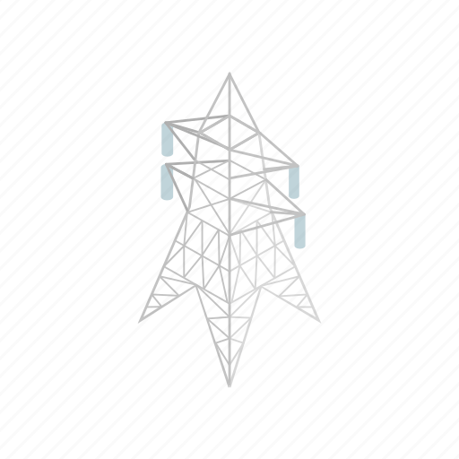 cable, electricity, energy, isometric, power, voltage, wire icon