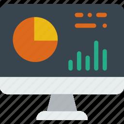 analytics, graph, piechart icon