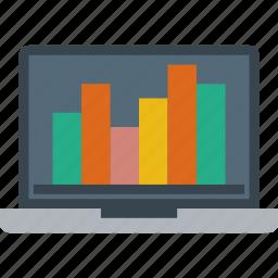 analytics, graph, information icon