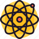 atom, energy, power, science icon