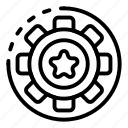 business, car, gear, hand, innovation, logo, wheel