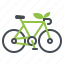 bicycle, bike, conservation, energy, vehicle icon