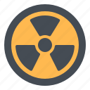 atom, biohazard, danger, radiation, toxic icon
