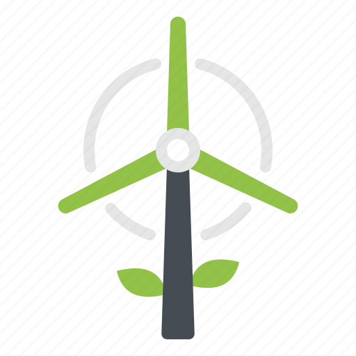 Ecology, energy, turbine, wind, windmill icon - Download on Iconfinder