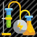 chemical, energy, innovative, technology icon