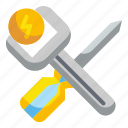 construction, maintenance, repair, screwdriver, tools icon