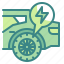 car, electric, innovative, tires, vehicles