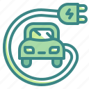 car, electric, transportation, vehicles icon